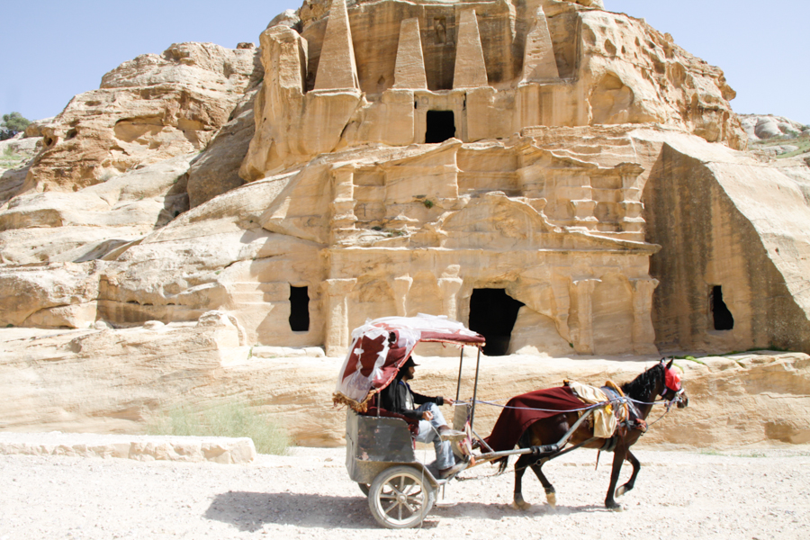 Public transport in Petra