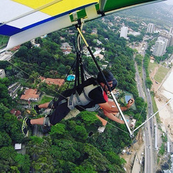 In the sky of Rio
