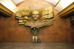 Heritage of Lenine on my shoulders