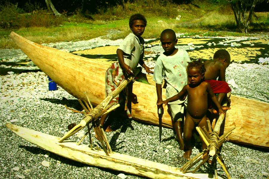 Traditional pirogue