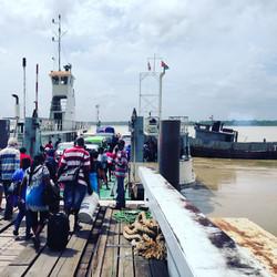Border between Suriname and Guyana