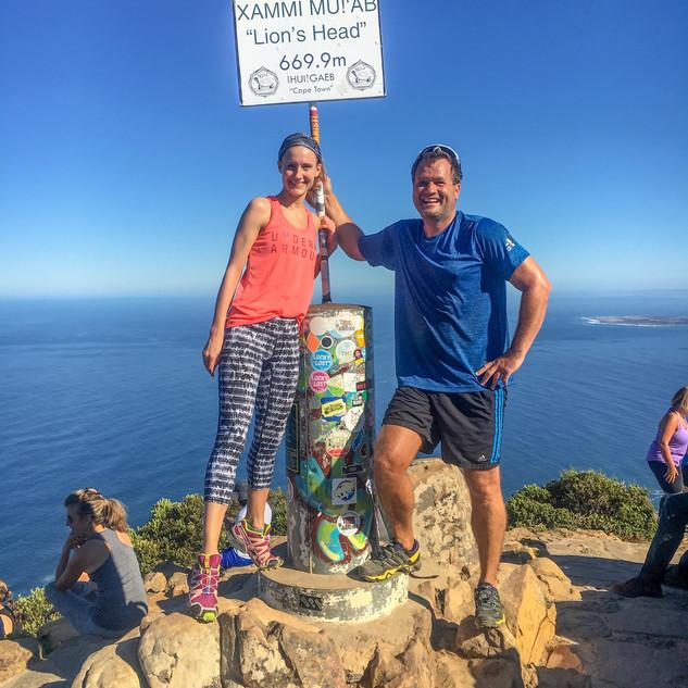 Kapstadt, Tafelberg und Lions Head