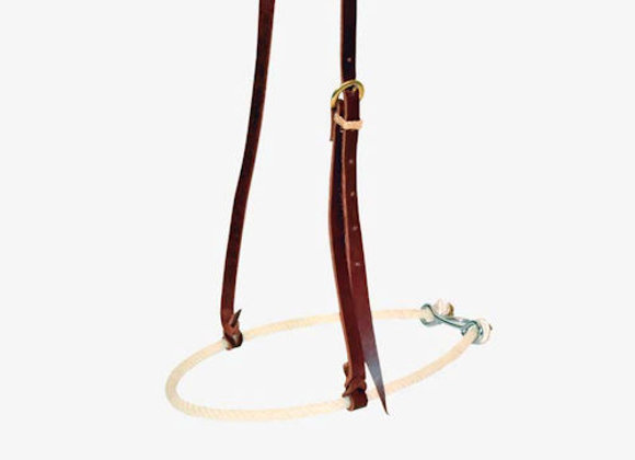 "Partrade Wildfire Saddlery 3/8"" Single Rope Noseband"