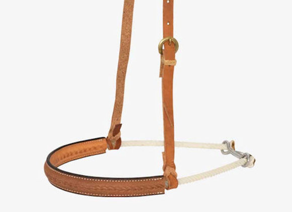 "Partrade Wildfire Saddlery 1"" Single Rope Noseband"