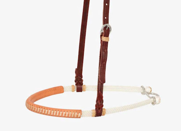 "Partrade Wildfire Saddlery 3/4"" Double Rope Noseband"