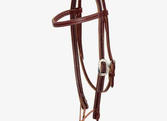 Partrade Wildfire Saddlery Latigo Browband Headstall