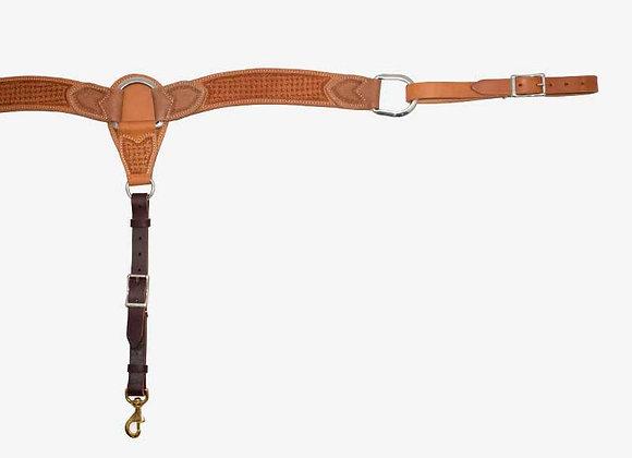 "Partrade Wildfire Saddlery Golden Spider Stamp 2"" Breast Collar"