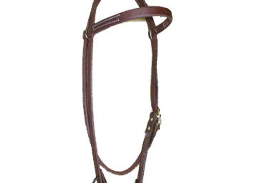 CowpersonTack Cowboy Harness Leather Headstall
