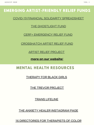 Check out our resources page for access to these!