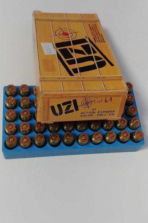 Uzi .41 Action Express 200 Gr Munizioni