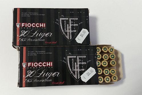 CARTUCCE FIOCCHI 30 LUGER-7.65 PARABELLUM