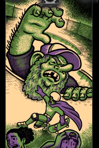 new Jon Horner graphics 'Bowl Troll'