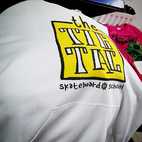 Tic Tac New Deal white hoodie