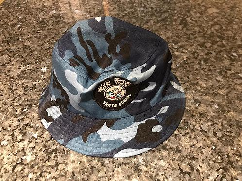 Tic Tac Camo and Tye Dye fishermans hat