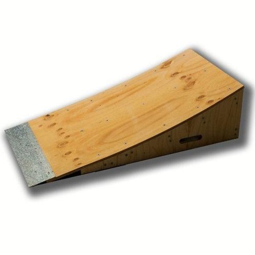 Skateboard kicker ramp