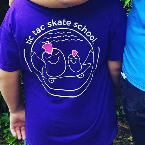 Tic Tac Skate School T-Shirts
