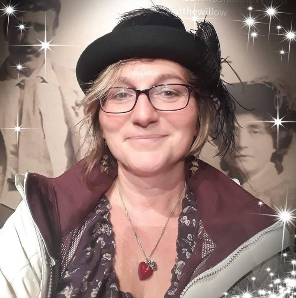 Sandy Ciccognani wearing a hat