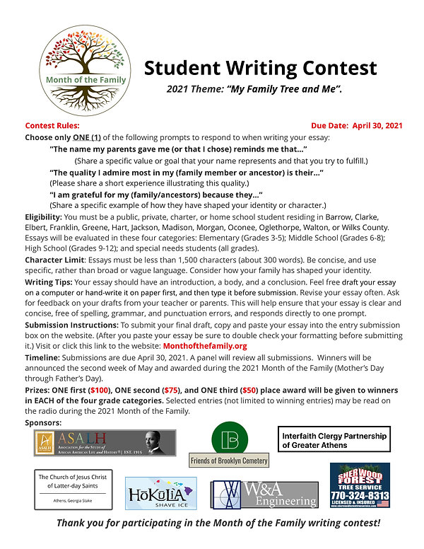 Student Writing Contest with logos.jpeg