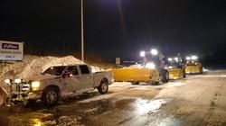 Night time snow removal