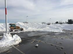 Trac Machine Snow Removal
