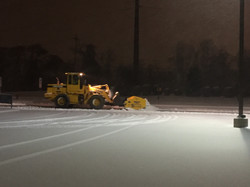 Snow Removal with a Wheel Machine