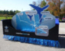 Region of Waterloo Airport Parade Float.