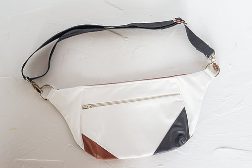 Recycled Pleather Hip Bag
