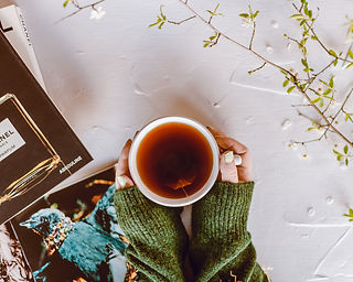 Tea and Fashion Reading and Flowers.jpg