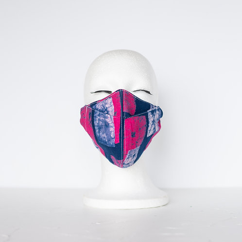 The Beak Mask — Hot Pink + Blue