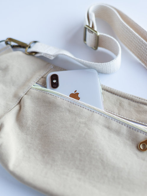 Fanny Pack Hip Bag in the Prep Squad Collection — Khaki Chino