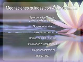 Meditaciones guiadas con Anne Germain