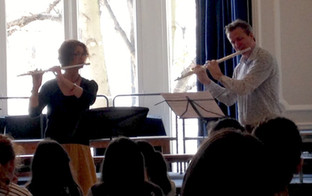 Janna and Ian playing Maya