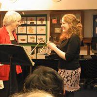 Pat Morris teaching Lindsay