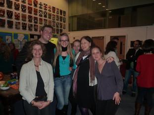 Janna, Gareth, Abbie, Simon, Camilla, Kate