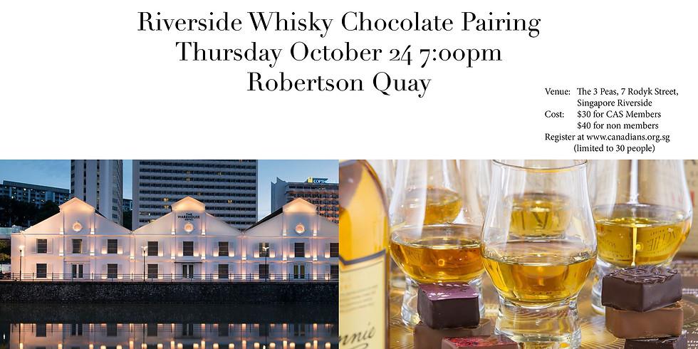 [CAS] Riverside Whiskey Chocolate Pairing