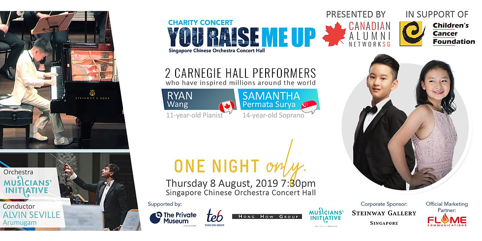 Canadian Alumni Network Presents -- Charity Concert: You Raise Me Up