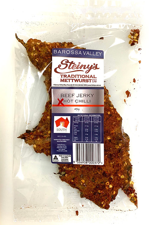 Beef Jerky Extra Hot Chilli 45g
