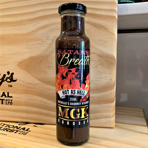 MGK Satan's Breath Chilli Sauce 250ml