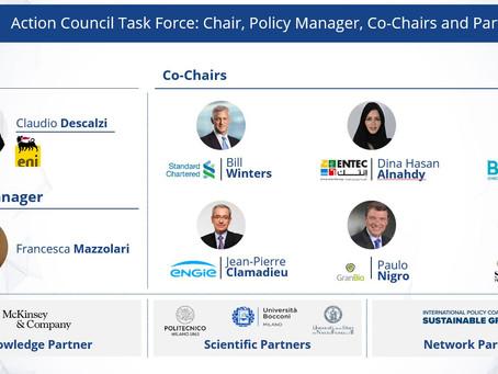 د.دينا النهدي نائباً للرئيس لفريق الاستدامة وحالات الطوارئ العالمية في B20 اطاليا