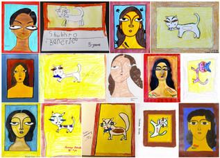 Saraswati Puja 2021 Kids Painting