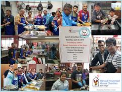 Saikat's Charity - RMHC on April 20, 2019