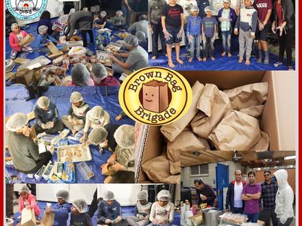 Brown Bag Brigade: Saikat's Charity Event 2018
