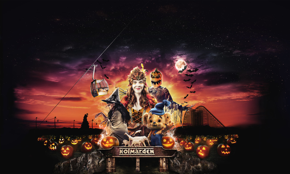 Kolmården Halloween Print