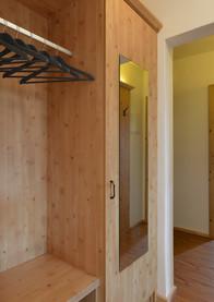 Hall including storage