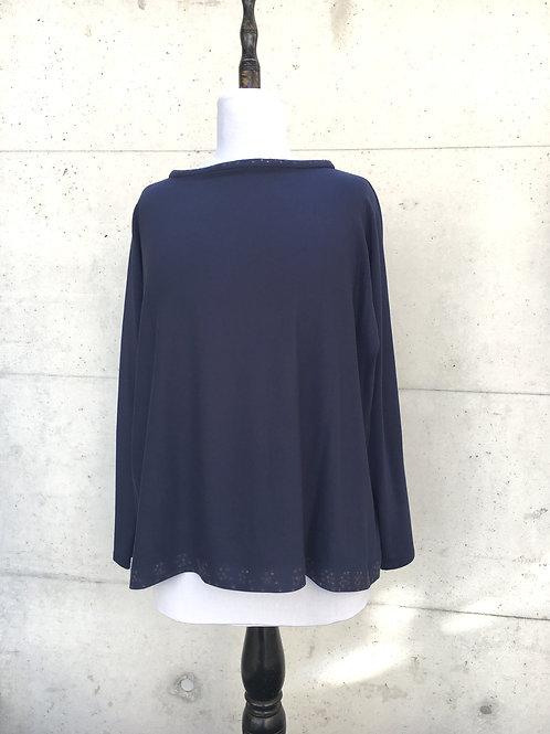 Shirt Baumwolljersey mit Laserelementen