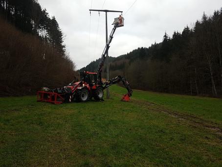 Unterstützung bei Stromausfällen