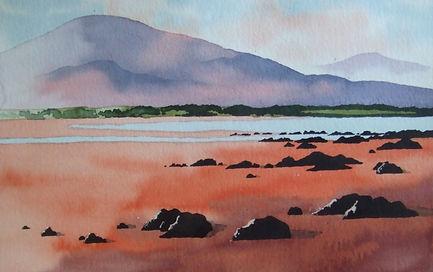 Watercolour Landscapes_Stradbally beach