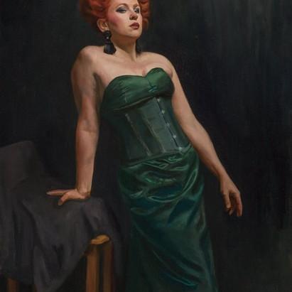 Portrait in Oils