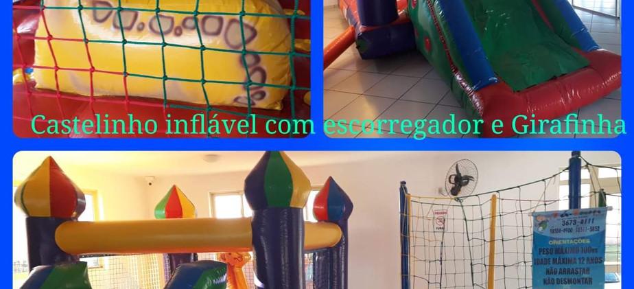 Castelinho com Escorregador Girafinha