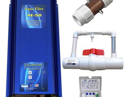 Pool water chlorine alternative